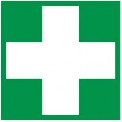 Autocollant évacuation pharmacie