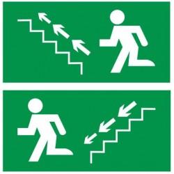 Autocollant escaliers de secours