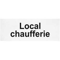 Local chaufferie