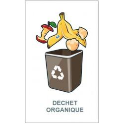 Panneau poubelle végétaux