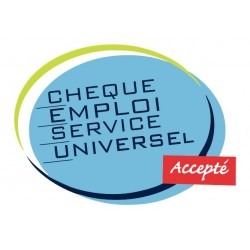 Chèque emploi service universel accepté