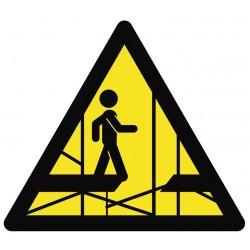 Panneau ou autocollant danger...
