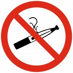 Panneau ou autocollant interdit de fumer