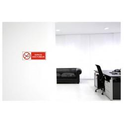 Panneau ou autocollant espace non fumeur