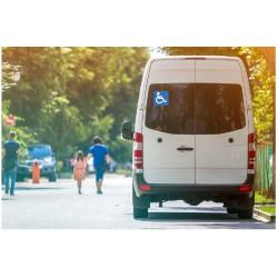 Autocollant Transport handicapé