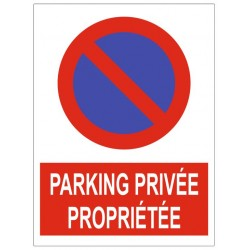 Parking proprieté privée