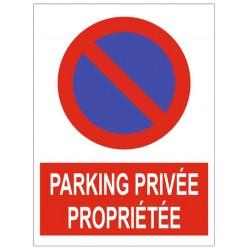 Parking proprieté privée