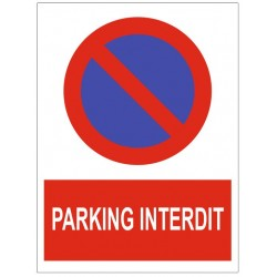 stationnement parking interdit
