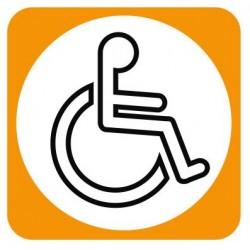 Aucollant WC handicapés
