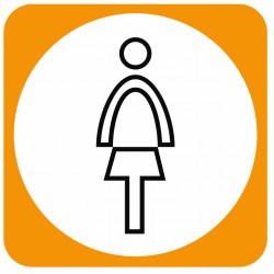 Aucollant WC femmes