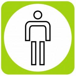 Aucollant WC hommes