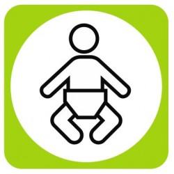 Aucollant Change pour bébé