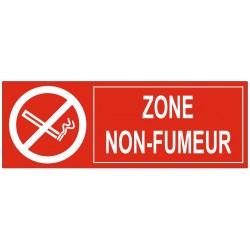 Panneau zone non fumeur