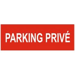 Panneau parking privé