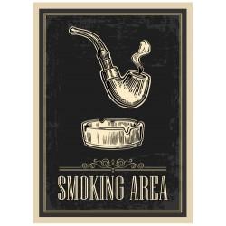 Aucollant Espace fumeur