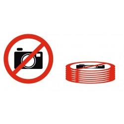 Série panneau photo interdit