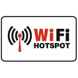 Aucollant accès Wifi