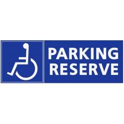 Stationement parking réservé handicapés