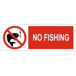 Panneau no fishing