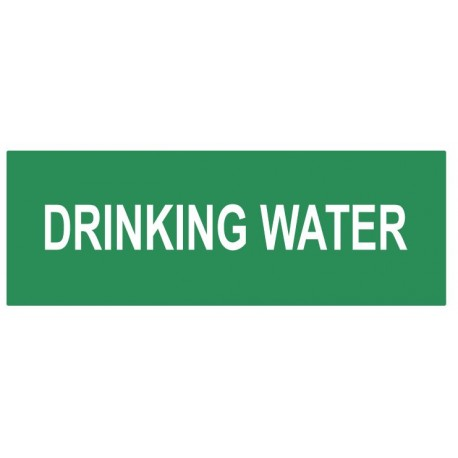 Panneau drinking water