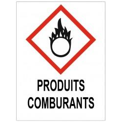 Panneau produits comburants