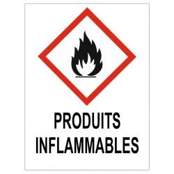 Panneau produits inflammables
