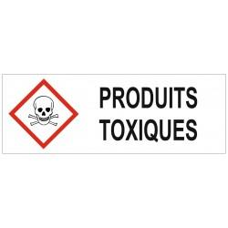 Panneau produits toxiques