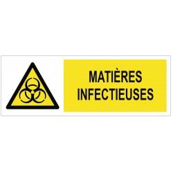 Panneau matières infectieuses