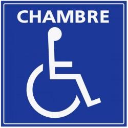 Panneau pour chambre handicapé