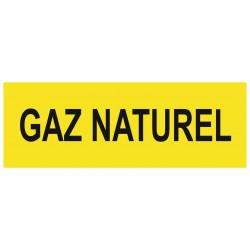 Panneau gaz naturel