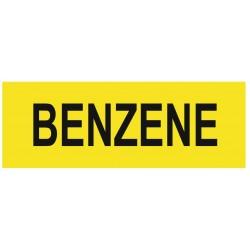 Panneau benzene