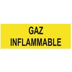 Panneau gaz inflammable