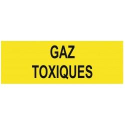Panneau gaz toxiques