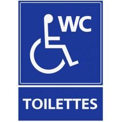 Autocollant Toilettes handicapés