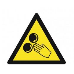 Panneau danger arc éléctrique