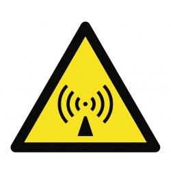 Panneau danger ondes radios