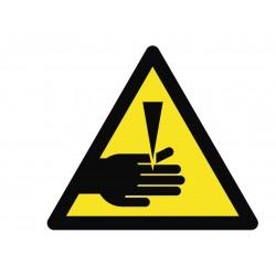 Panneau danger de coupure
