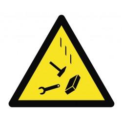 Panneau danger chute d'outils