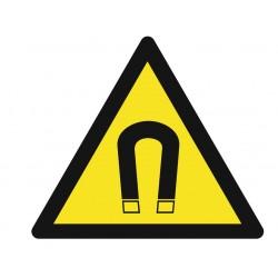 Panneau danger champ magnétique