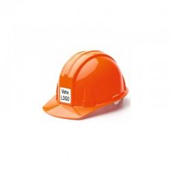 Autocollant casque chantier personnalisé