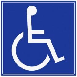 Panneau handicapé