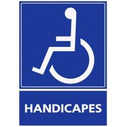 Panneau handicapés