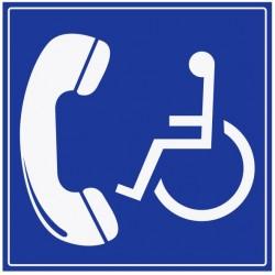 Panneau accès téléphone
