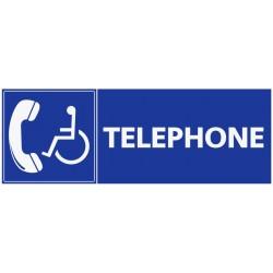 Panneau accès téléphone pmr