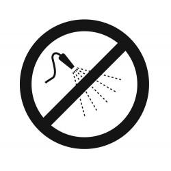 Panneau arrosage interdit