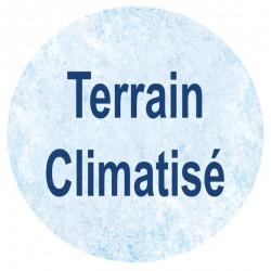 Terrain climatisé