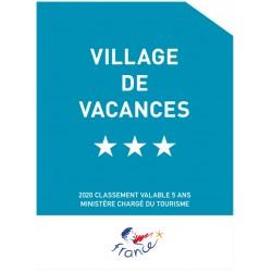 Panonceau village de vacances (1 à 5 étoiles)