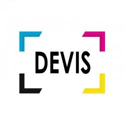 DEVIS DEV887 - 520 stickers de 15 et 12CM (France)