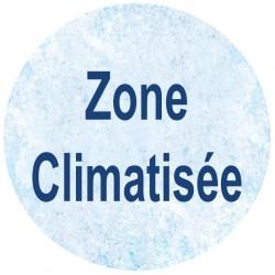 Zone climatisée