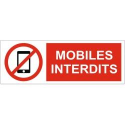 Panneau mobiles interdits